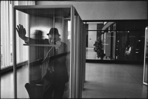 John F Kennedy International Airport, New York, 1968 by Garry Winogrand