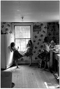 Three Girls in Kitchen, 1964 William Gedney Photographs and Writings Duke University David M. Rubenstein Rare Book & Manuscript Library http://library.duke.edu/digitalcollections/gedney/